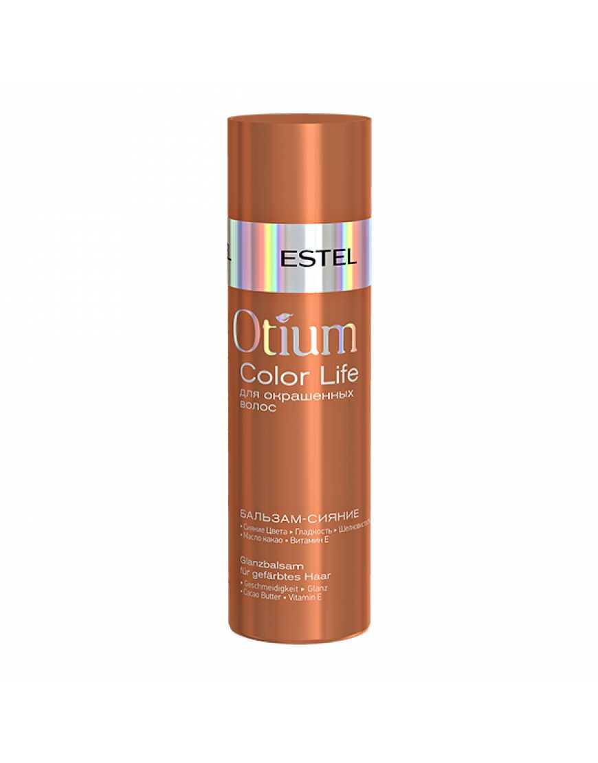 ESTEL Бальзам-сияние для окрашенных  волос OTIUM COLOR LIFE, 200 мл