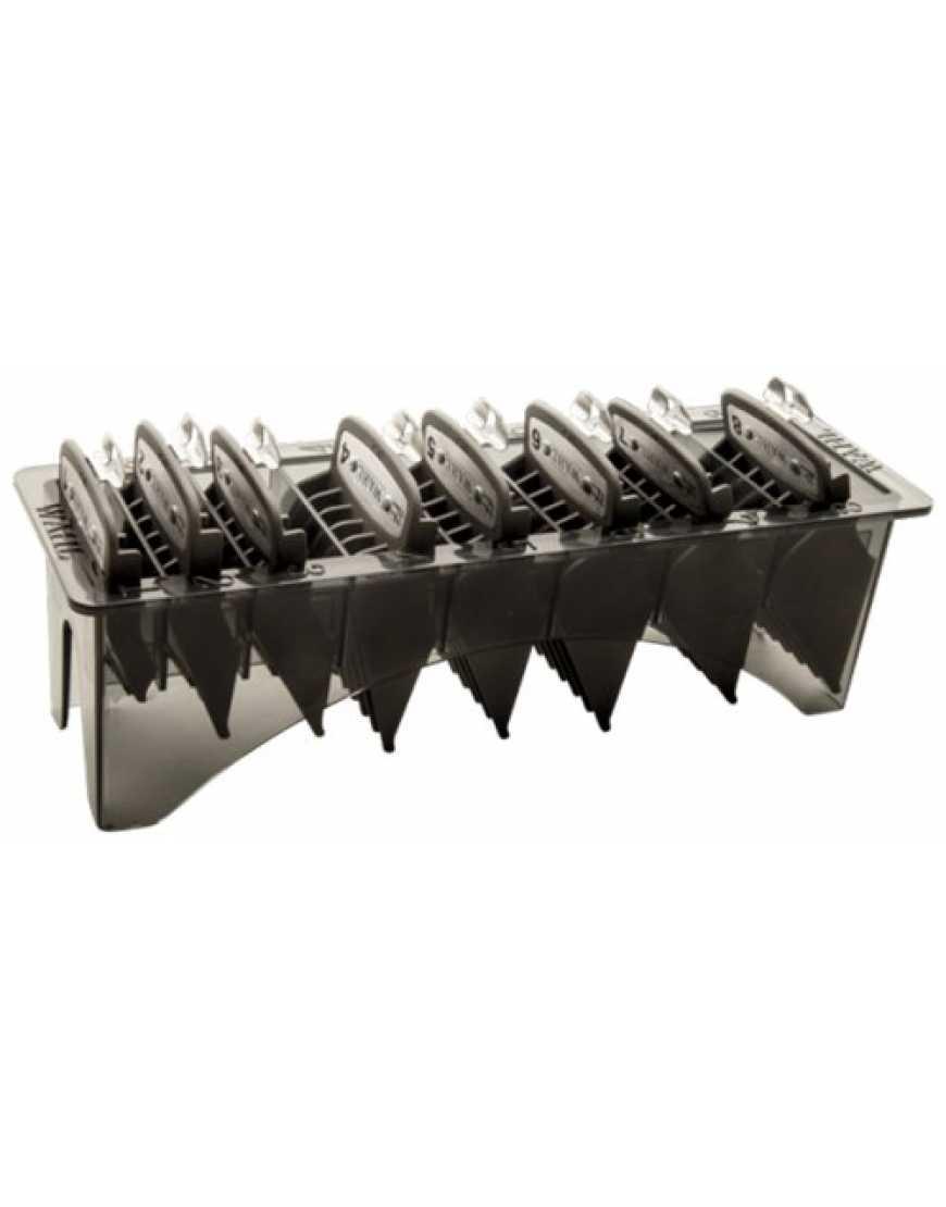 3171-600 Wahl Attachment comb set/ Комплект насадок Премиум 3-25мм, черный в кейсе