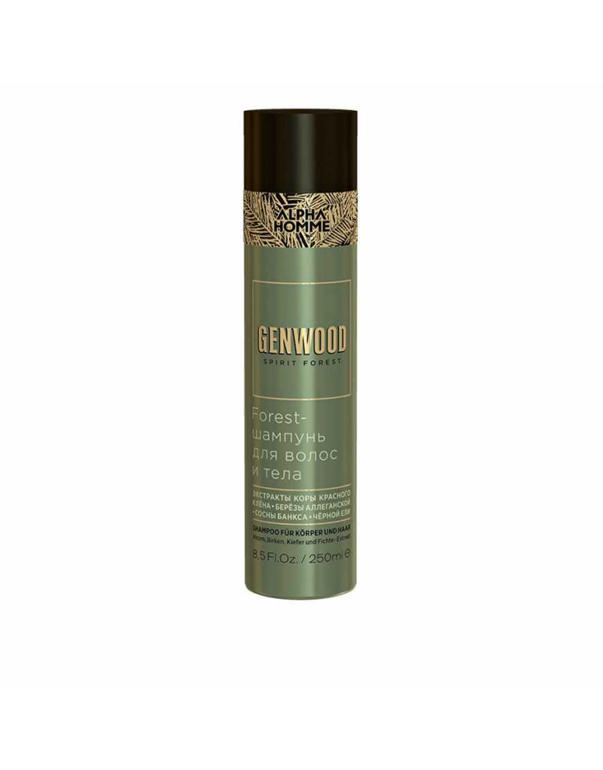 Estel Genwood Forest Шампунь для волос и тела, 250 мл