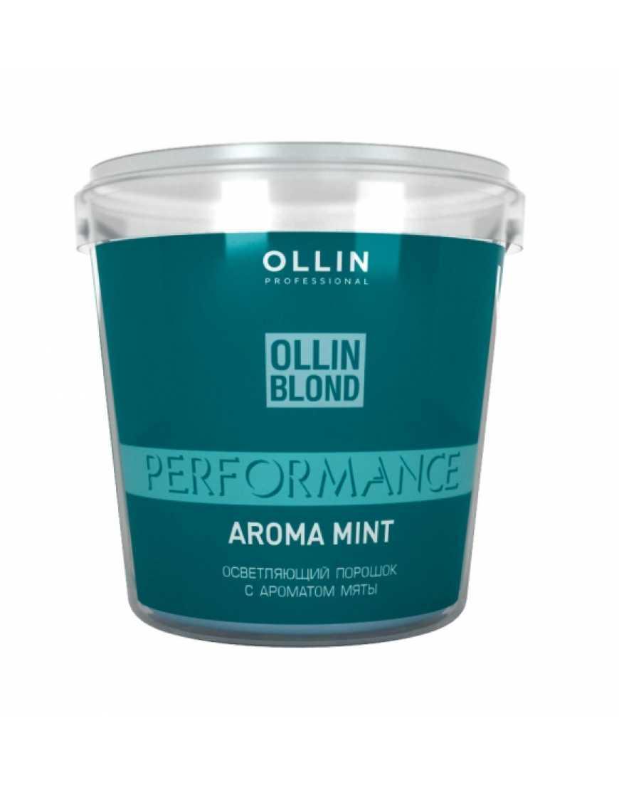 OLLIN Professional Blond Performance Осветляющий порошок с ароматом мяты, 500 гр
