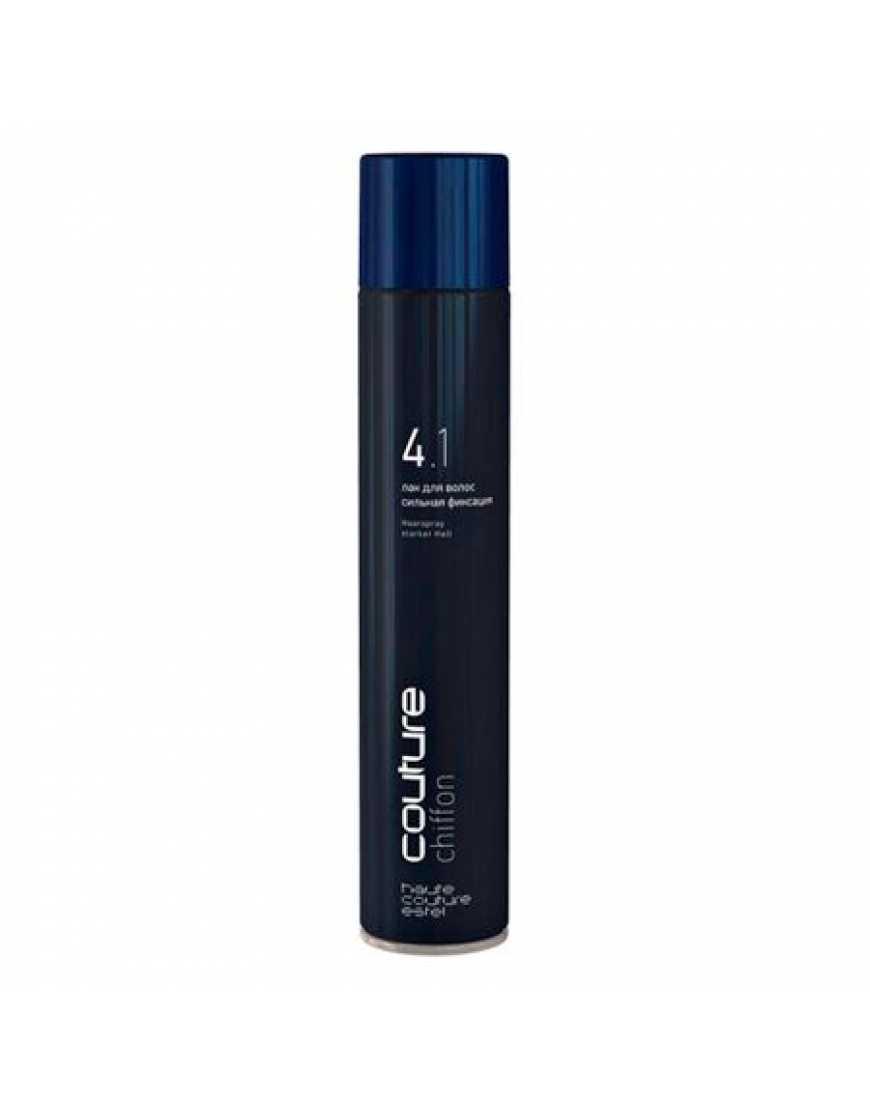 ESTEL Лак для волос CHIFFON HAUTE COUTURE сильная фиксация, 100 мл