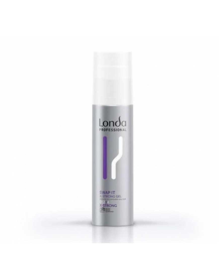 Гель экстрасильной фиксации Londa Professional SWAP IT для укладки волос, 100 мл