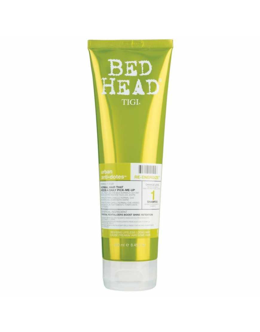 TIGI Bed Head Urban Anti   dotes Re-Energize Шампунь для нормальных волос уровень 1, 250 мл