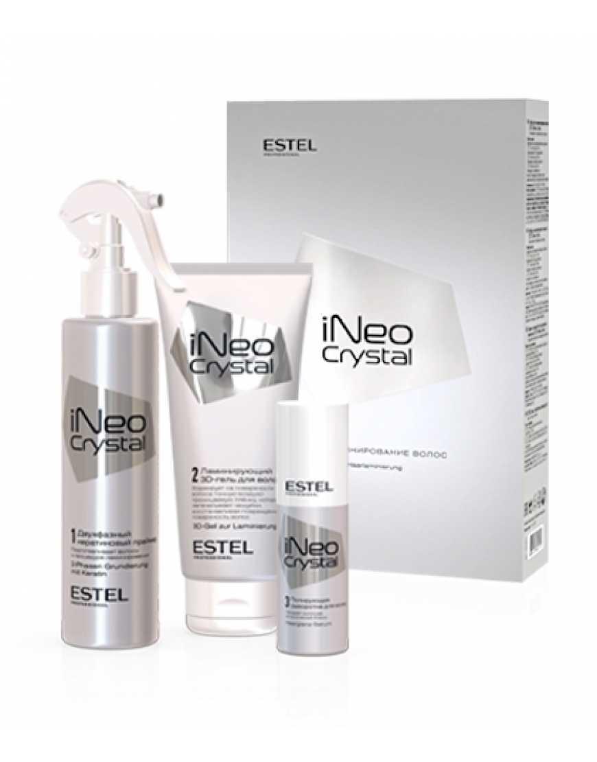 ESTEL iNeo-Crystal Набор для ламинирования волос (гель праймер сыворотка)
