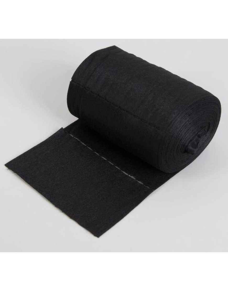 Воротнички в рулоне 7*40 черные 100 шт.