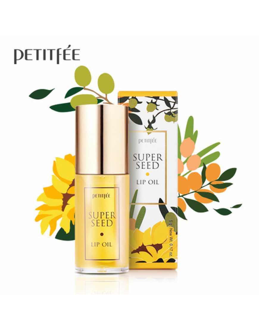 Petitfee Питательное масло для губ Super Seed Lip Oil, 5 гр