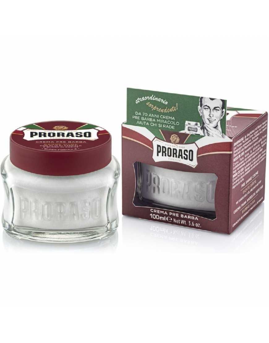 Proraso Крем до бритья питательный с маслом сандала и маслом ши, 100 мл