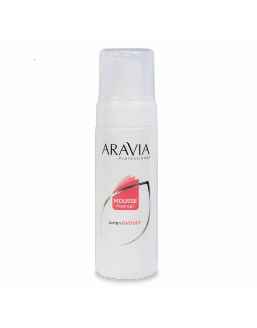 Aravia Professional Мусс после депиляции  с экстратом хлопка, 160 мл