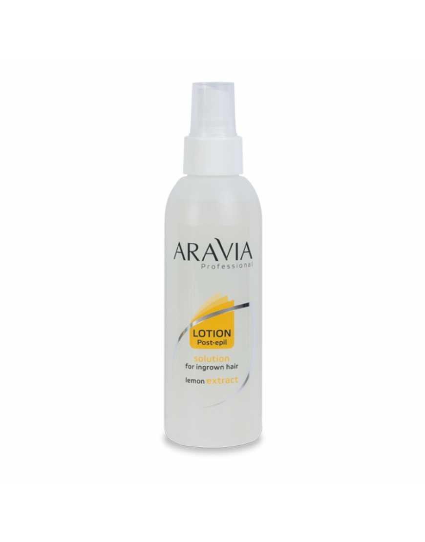 Aravia Professional Лосьон с экстратом лимона против вросших волос, 150  мл
