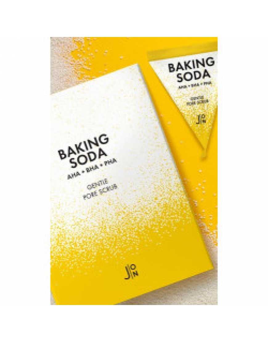 J:ON Скраб для лица с содой BAKING SODA GENTLE PORE SCRUB 5 гр*20 шт