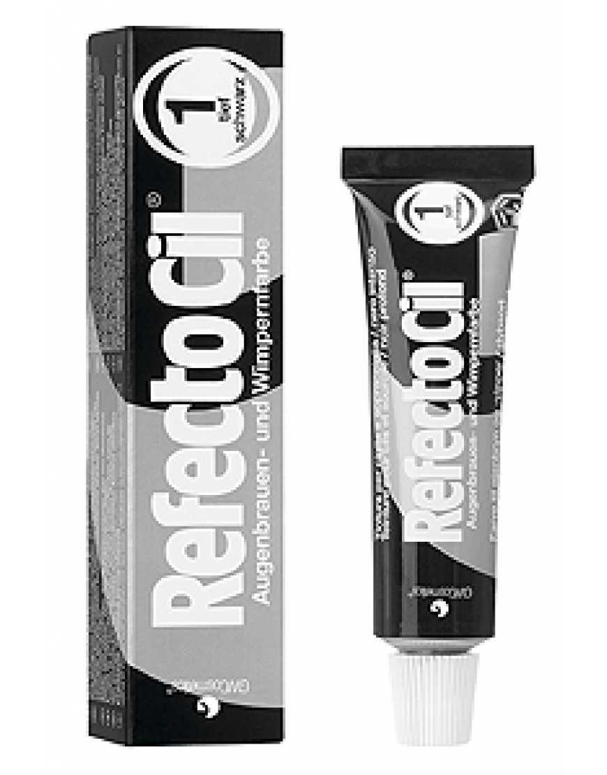 RefectoCil №1 Краска для бровей и ресниц черная, 15 мл