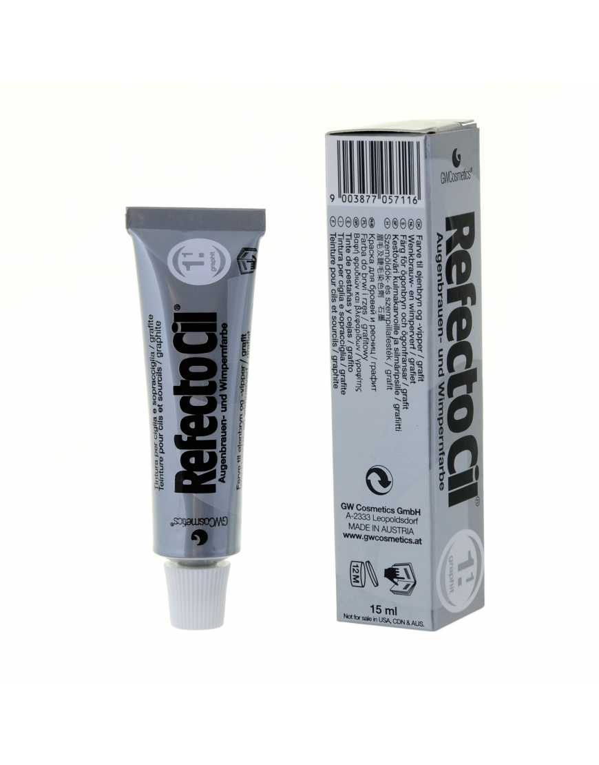 RefectoCil №1.1 Краска для бровей и ресниц  графит, 15 мл