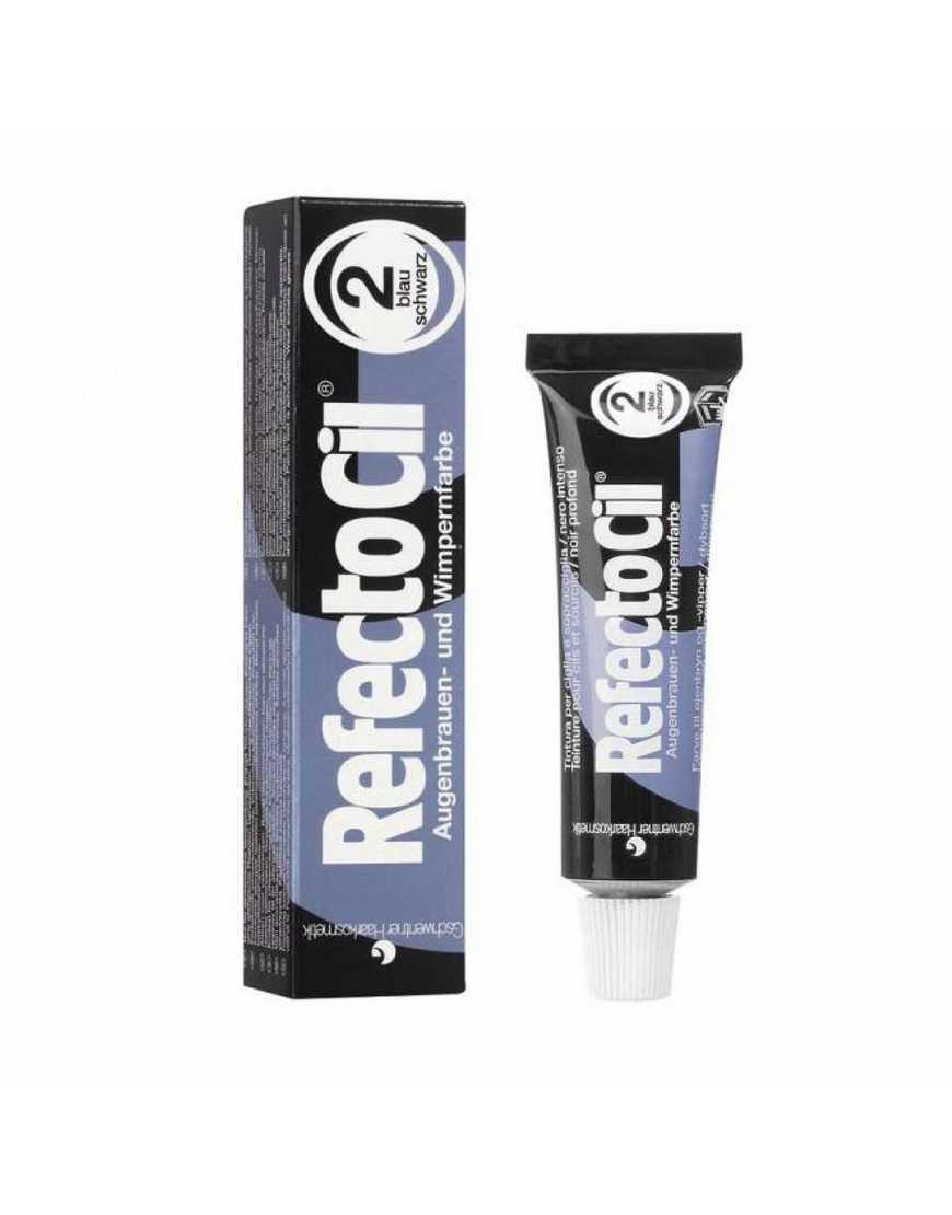 RefectoCil №2 Краска для бровей и ресниц иссине-черная, 15 мл