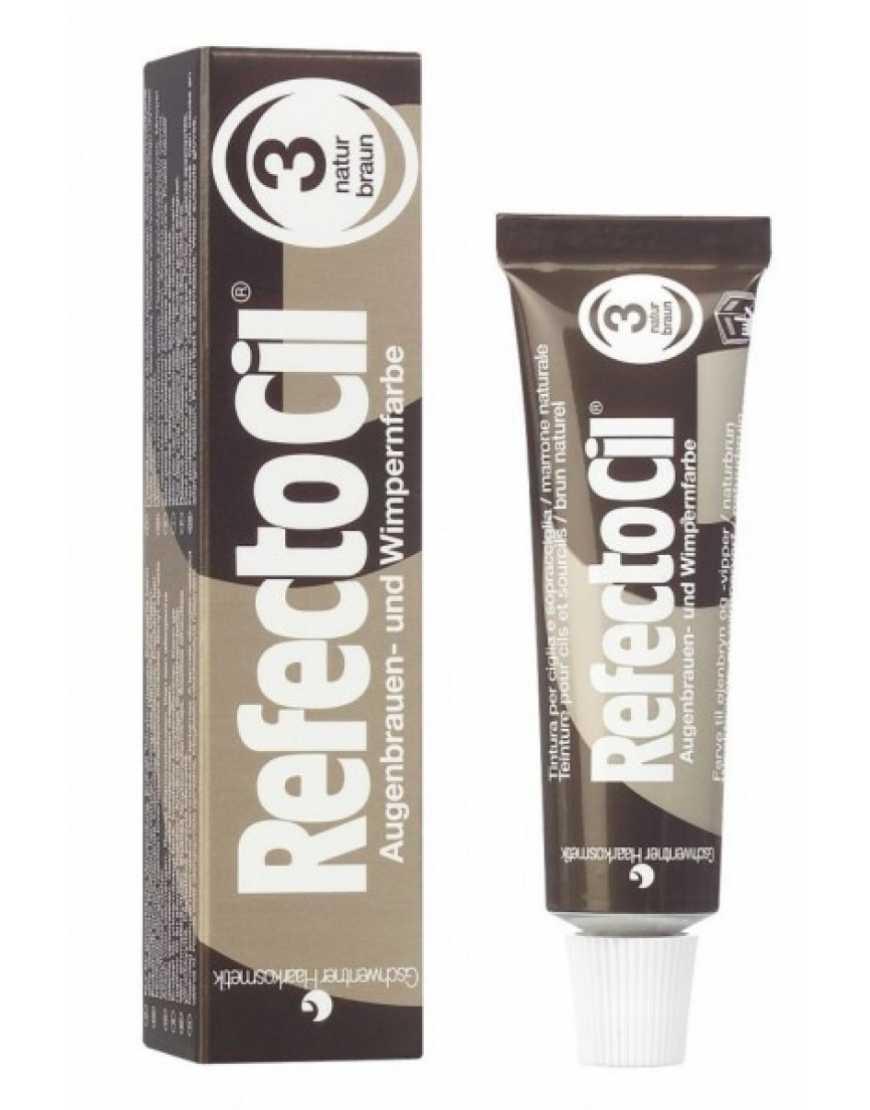 RefectoCil №3 Краска для бровей и ресниц коричневая, 15 мл