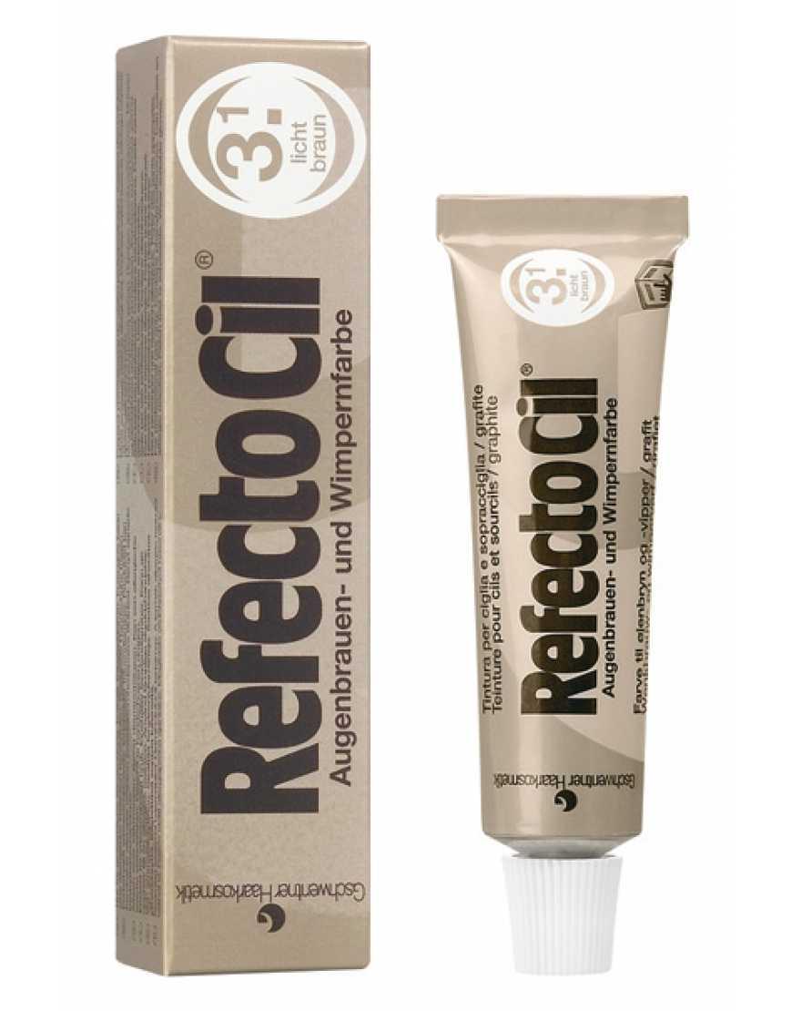 RefectoCil №3.1 Краска для бровей и ресниц светло-коричневая, 15 мл