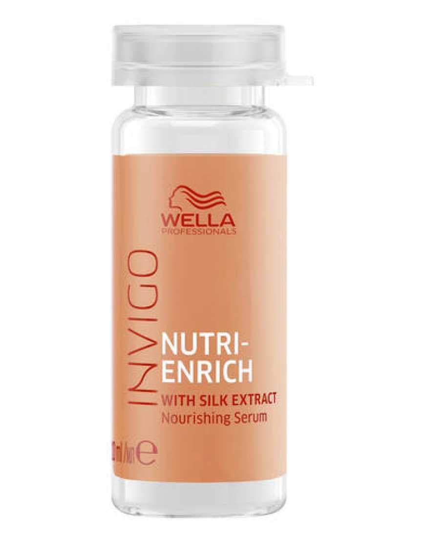 Питательная сыворотка-уход Wella Professionals Invigo Nutri Enrich, 8x10 мл