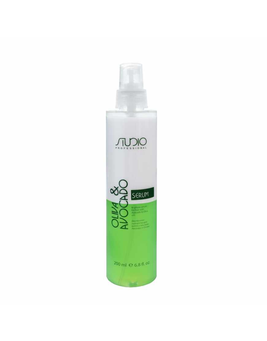 Kapous Professional Двухфазная сыворотка для волос с маслами Авокадо и Оливы, 200 мл