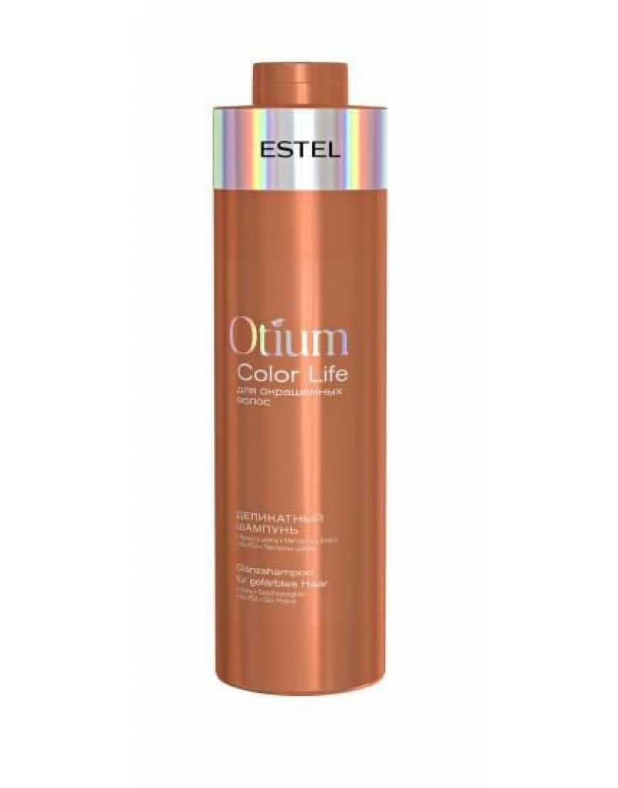 ESTEL Деликатный шампунь для окрашенных волос OTIUM COLOR LIFE, 1000 мл