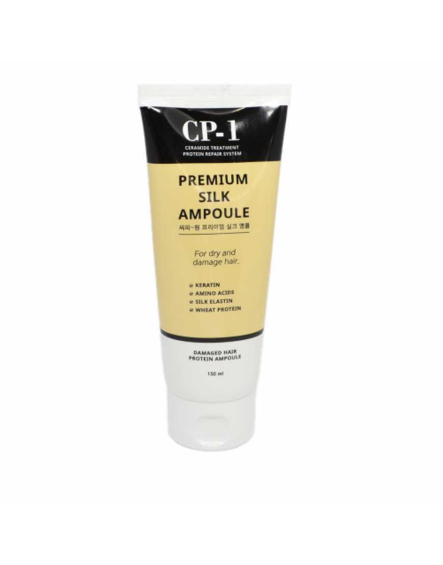 Esthetic House CP-1 Несмываемая сыворотка для волос с протеинами шелка Premium Silk Ampoule, 150 мл