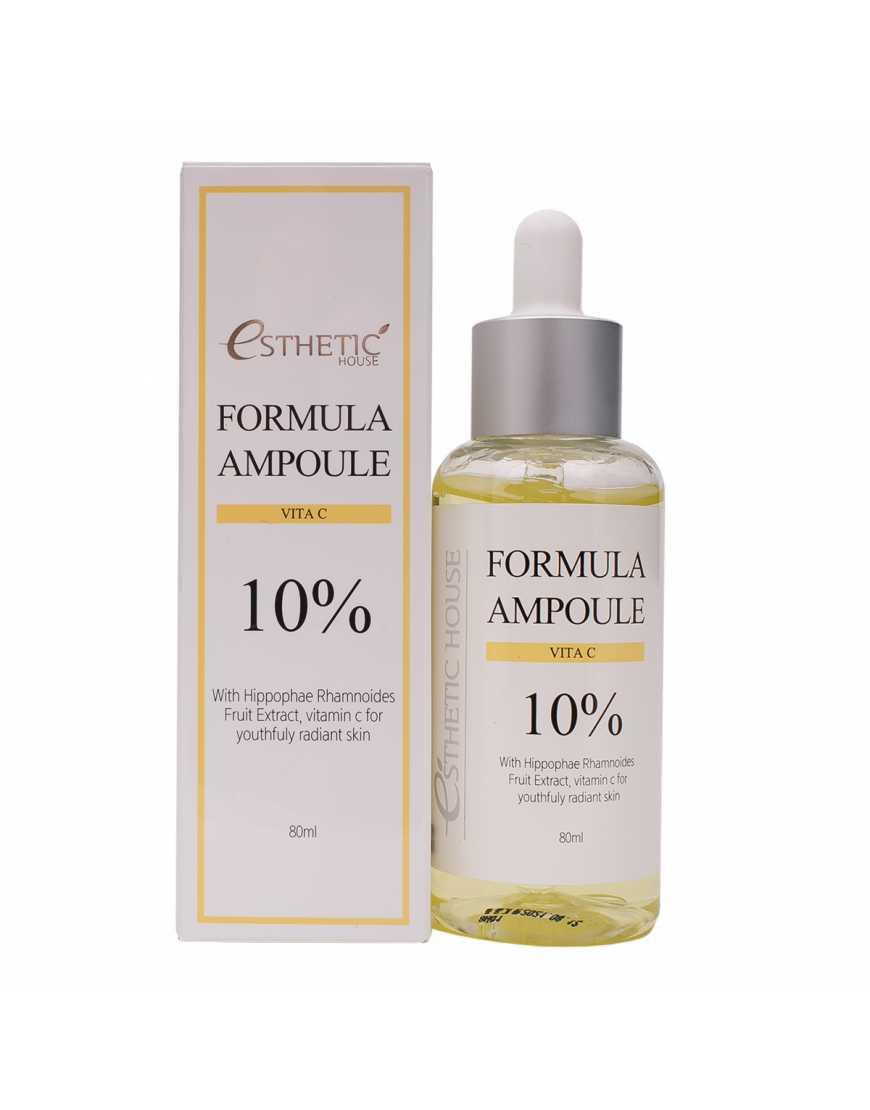 Esthetic House Сыворотка для лица с витамином С Formula ampoule Vita C, 80 мл