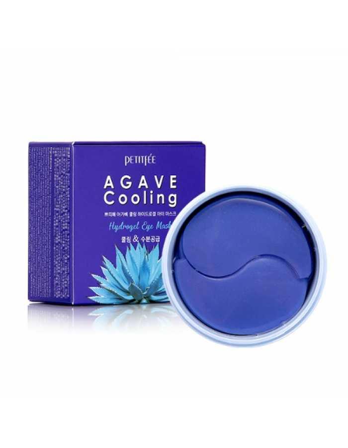 PETITFEE Agave Cooling Hydrogel Eye Mask Гидрогелевые патчи для глаз АГАВА, 60 шт