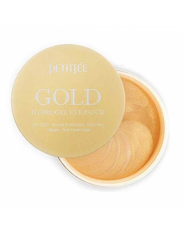 PETITFEE Gold Hydrogel Eye Patch Гидрогелевые патчи для глаз Золото, 60 шт