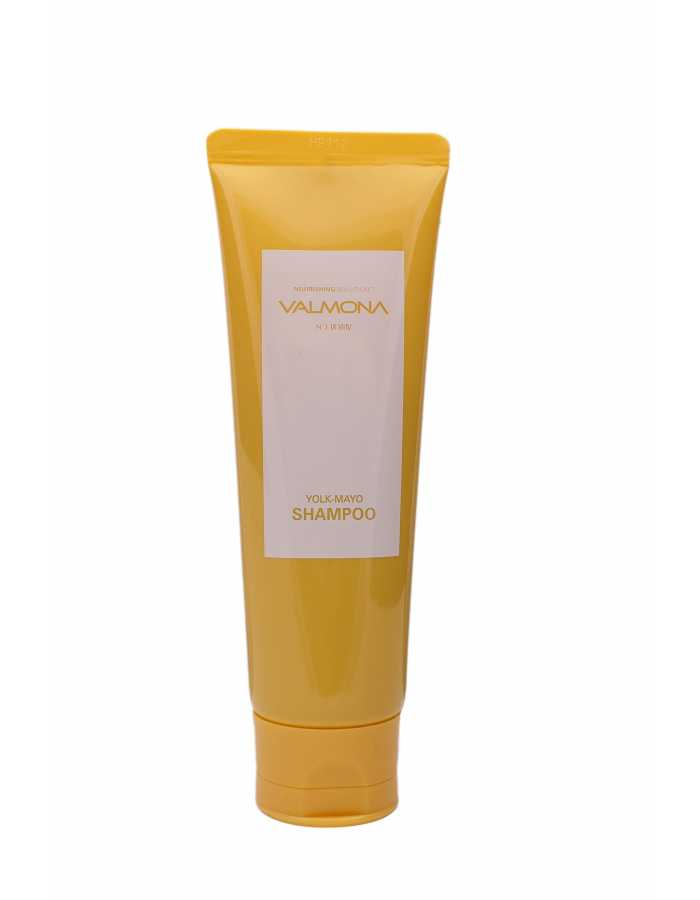 VALMONA Шампунь для волос ПИТАНИЕ Nourishing Solution Yolk-Mayo Nutrient Shampoo, 100 мл