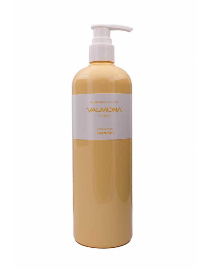 VALMONA Шампунь для волос ПИТАНИЕ Nourishing Solution Yolk-Mayo Nutrient Shampoo, 480 мл