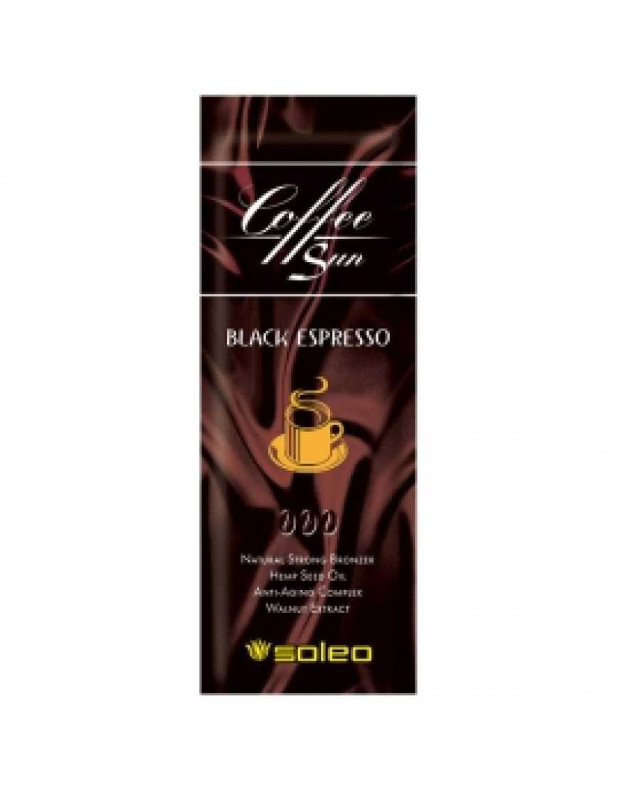 Средство для загара Soleo Coffe Sun Black espresso,15 мл
