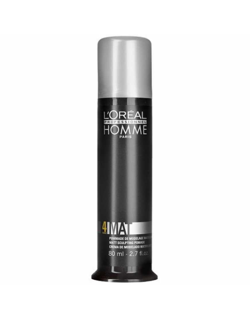 L'Oreal Professionnel Homme Крем-паста матирующая для укладки волос , 80 мл