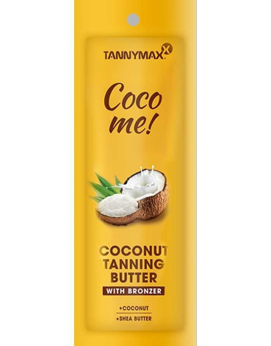 Tannymaxx Coco me! Матовое СПА-масло с бронзатором для загара в солярии и на солнце, 15 мл