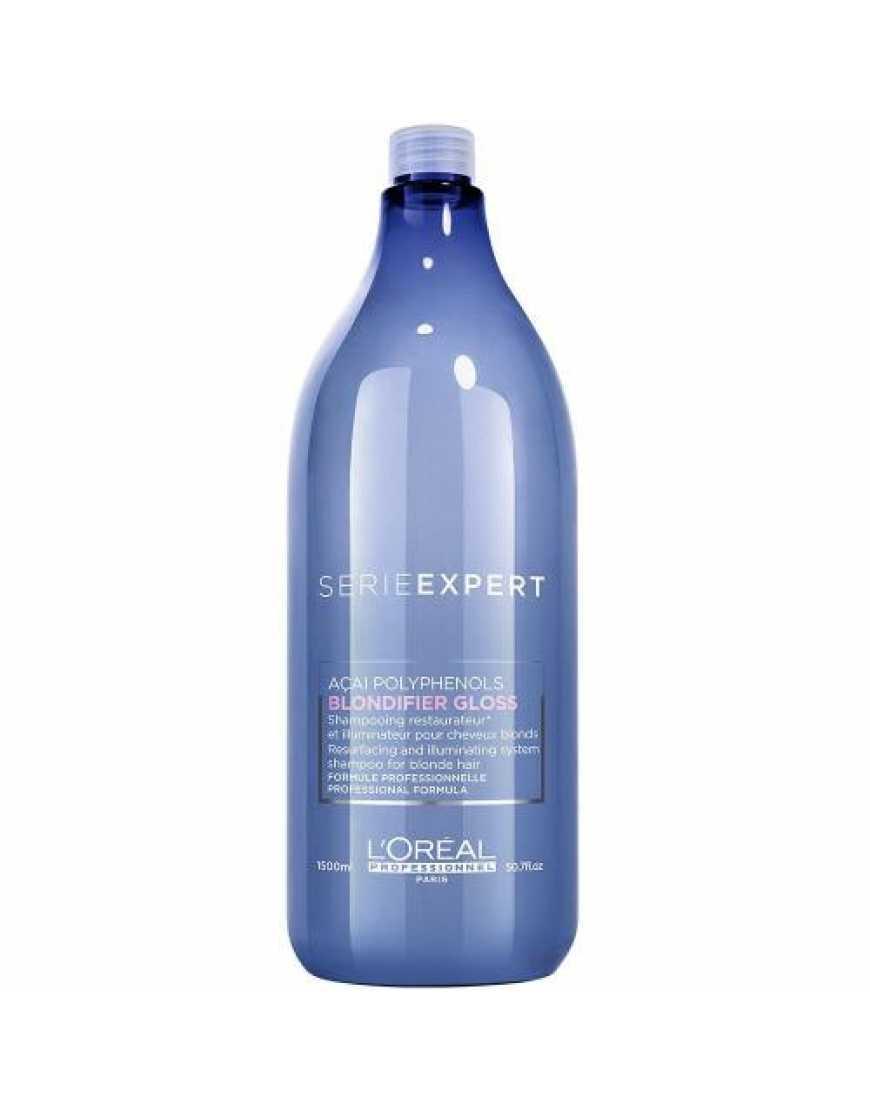 L'Oreal Professionnel Blondifier Gloss шампунь для сияния оттенков блонд, 1500 мл