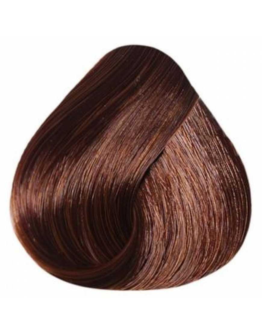 Estel Крем-краска для волос 6/4 DeLux Silver, темно-русый медный 60 мл