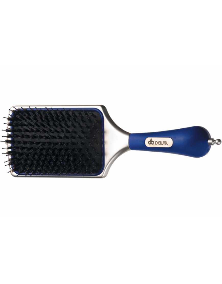 DEWAL BR69995BC Щетка массажная для волос blue