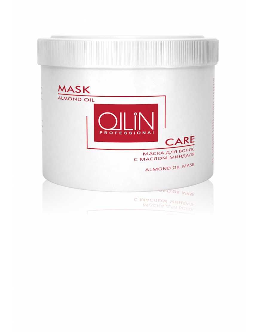 OLLIN Professional Care Маска против выпадения волос с маслом миндаля, 500 мл