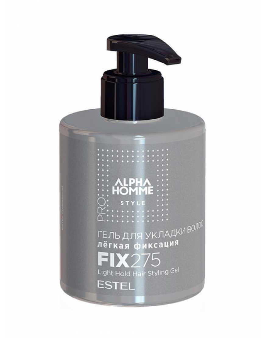 ESTEL Гель для укладки волос легкая фиксация Alpha Homme, 275 мл