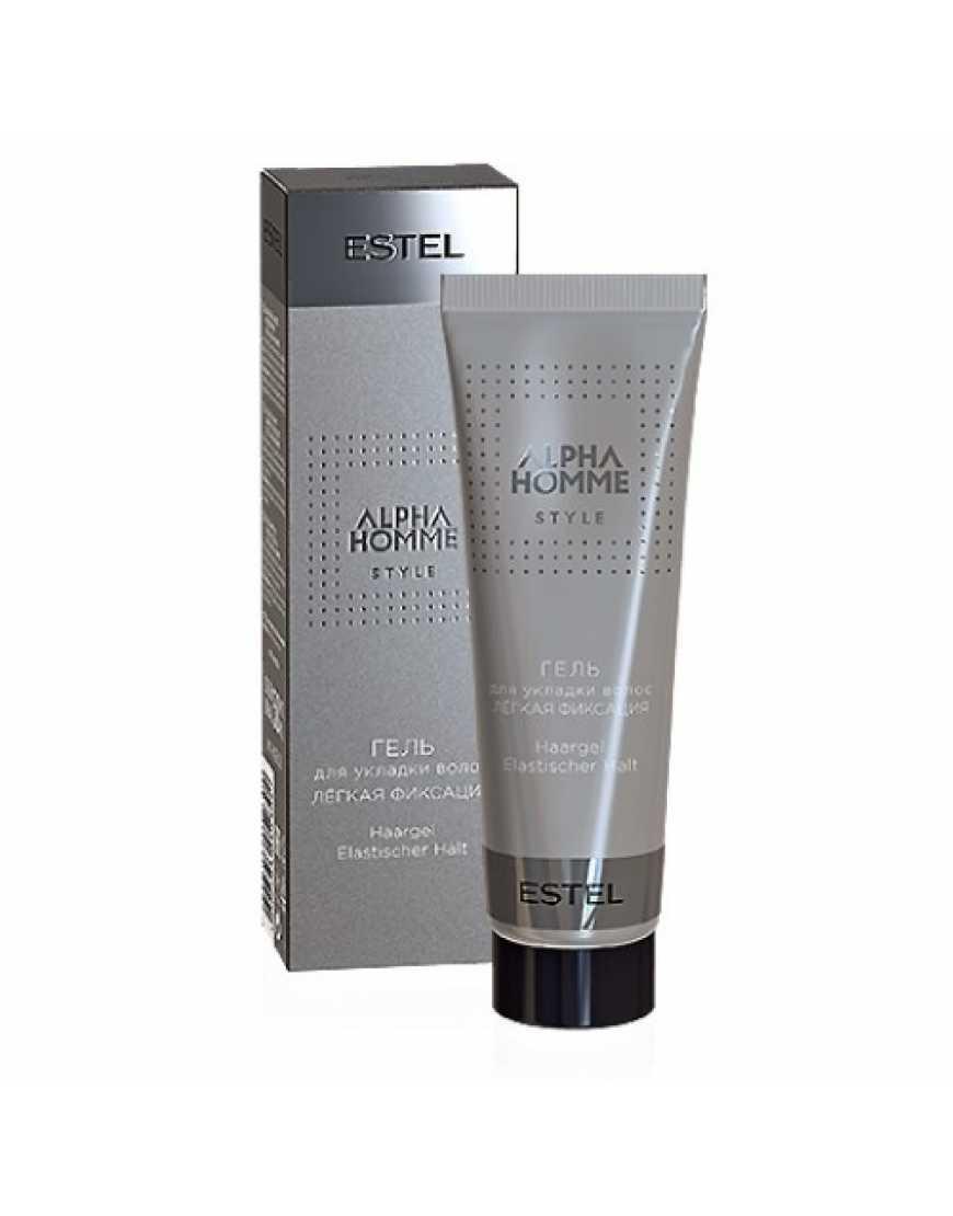ESTEL Гель для укладки волос легкая фиксация Alpha Homme, 50 мл