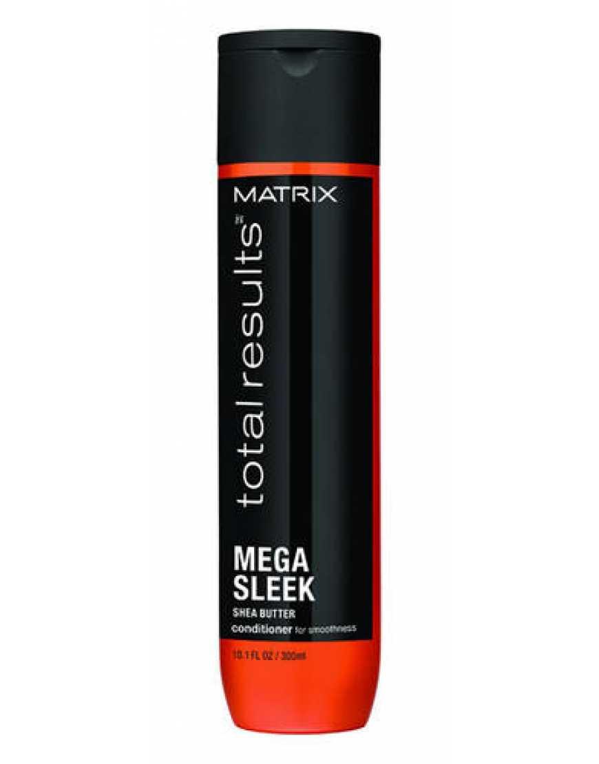 Кондиционер MATRIX Total Results Mega Sleek для гладкости непослушных волос, 300 мл