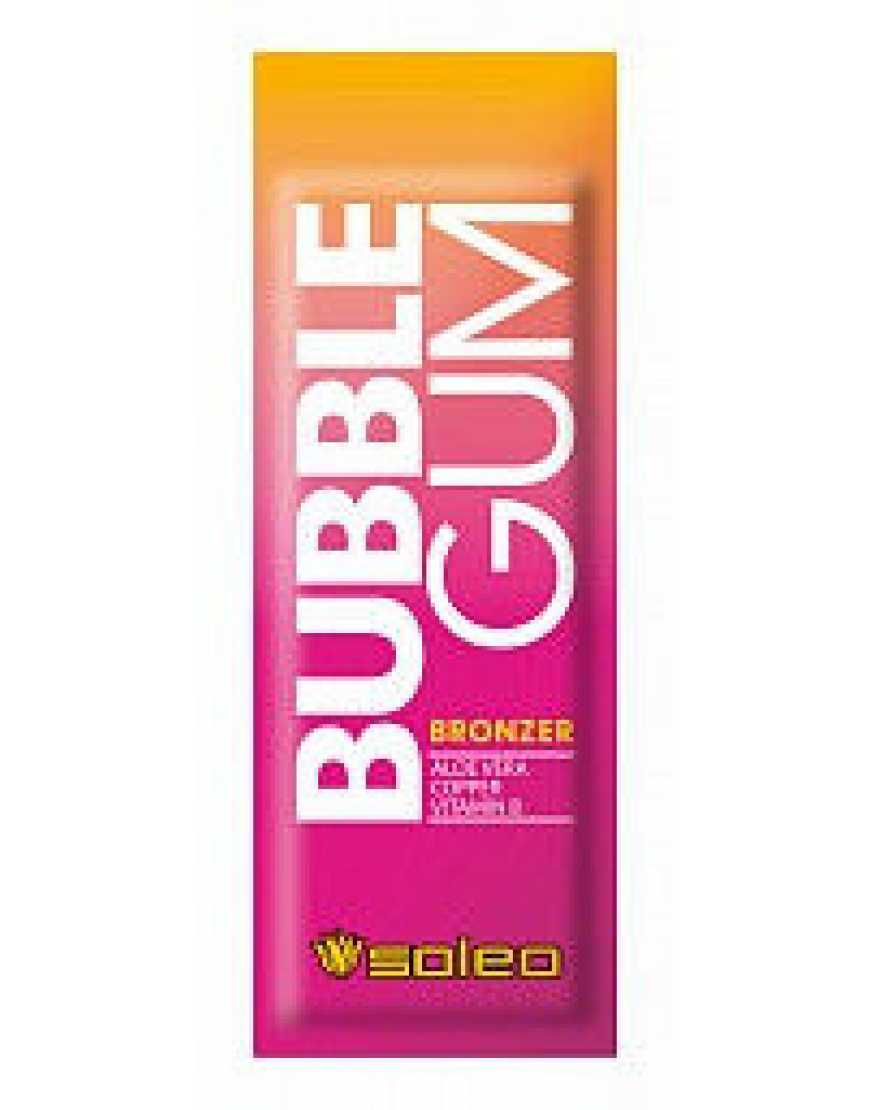 Бронзатор с ускорителем загара Soleo Basic Bubble Gum,15 мл