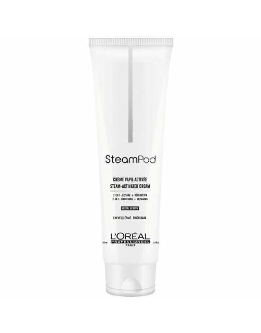 L'Oreal Professionnel Steam Pod Крем-уход для разглаживания тонких волос, 150 мл