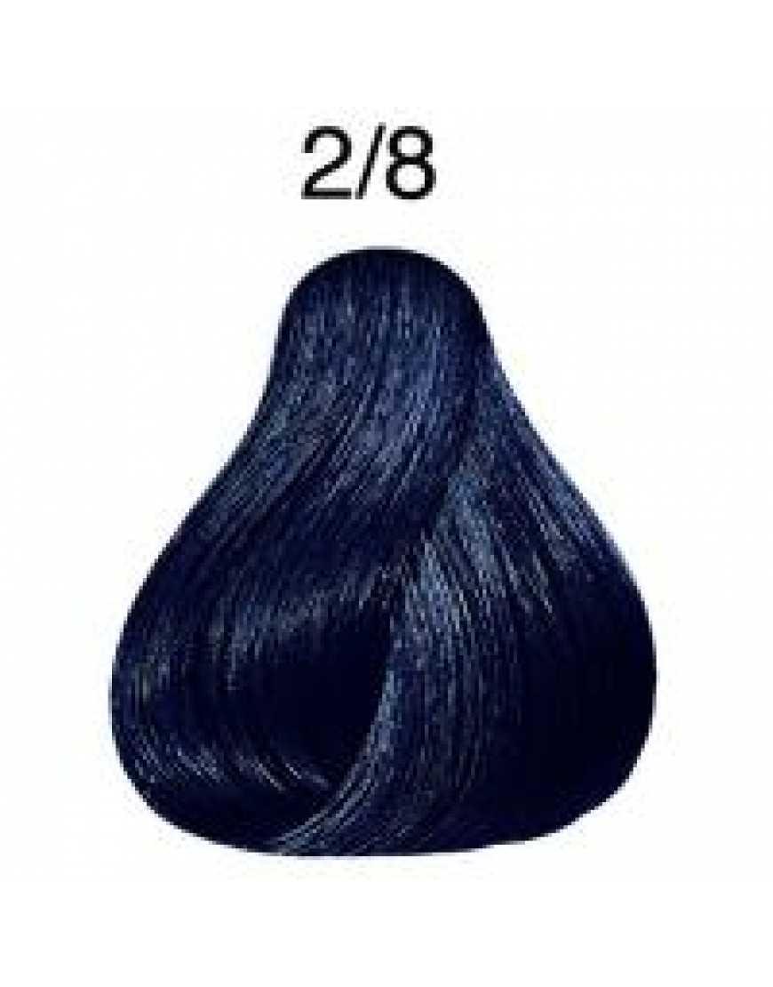 Крем-краска Londa Color интенсивное тонирование для волос, сине-черный 2/8
