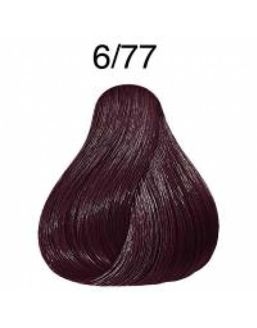 Крем-краска Londa Color интенсивное тонирование для волос, темный блонд интенсивно-коричневый 6/77