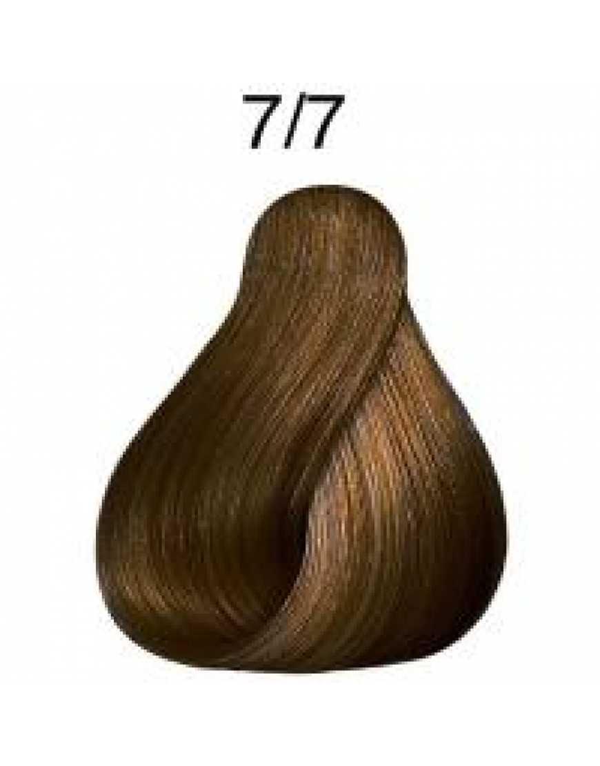 Крем-краска Londa Color интенсивное тонирование для волос, блонд коричневый 7/7