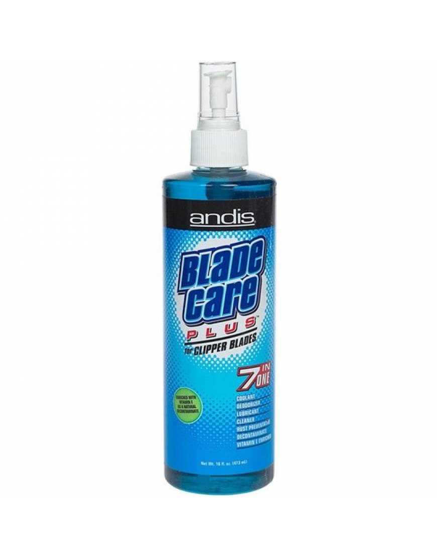 ANDIS 12590 Спрей для очистки ножей 7-в-1 с витамином Е 473 мл