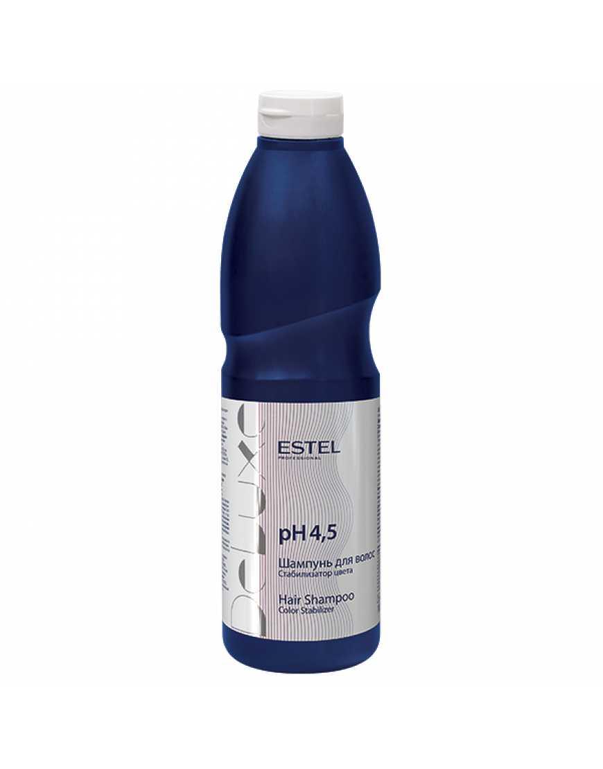 ESTEL DE LUXE Шампунь для волос стабилизатор цвета, 1000 мл
