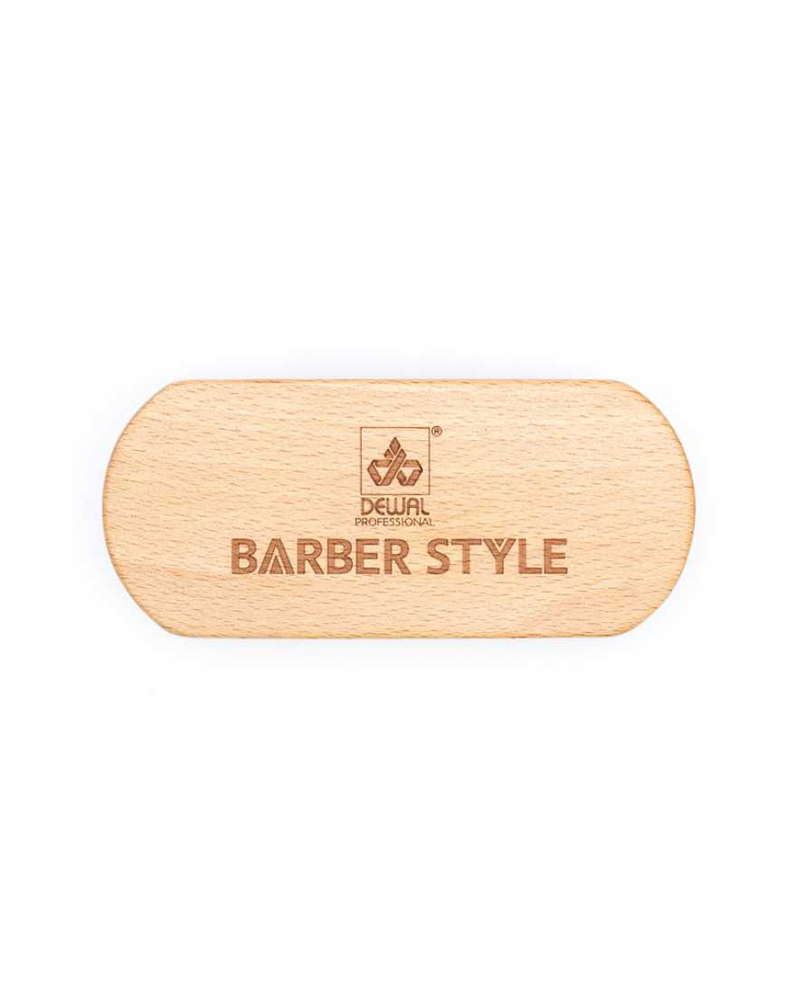 Щетка для укладки волос и бороды Barber Style, Dewal CO-29 натуральная щетина, 9-рядная