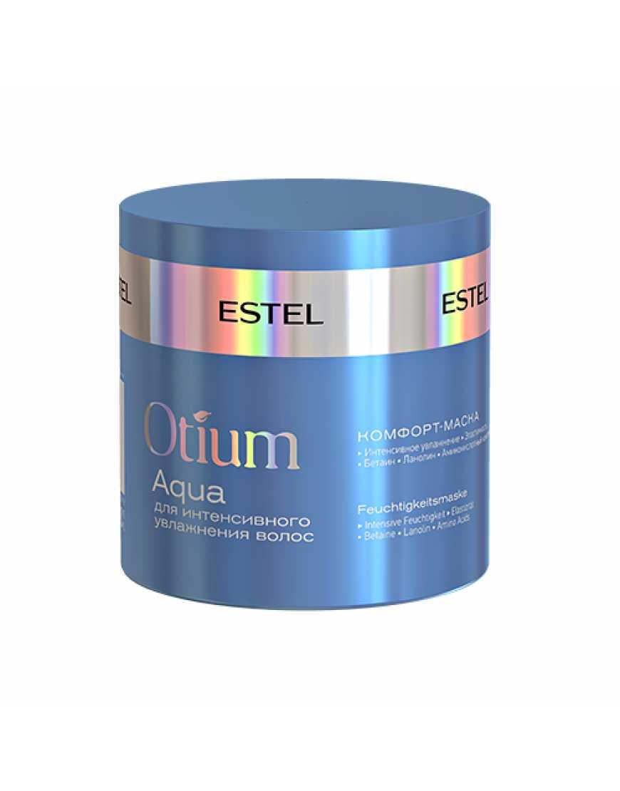 ESTEL Комфорт-маска для интенсивного увлажнения волос OTIUM AQUA, 300 мл
