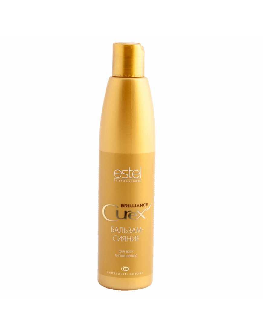 ESTEL Curex Brilliance Бальзам-сияние для всех типов волос 250 мл