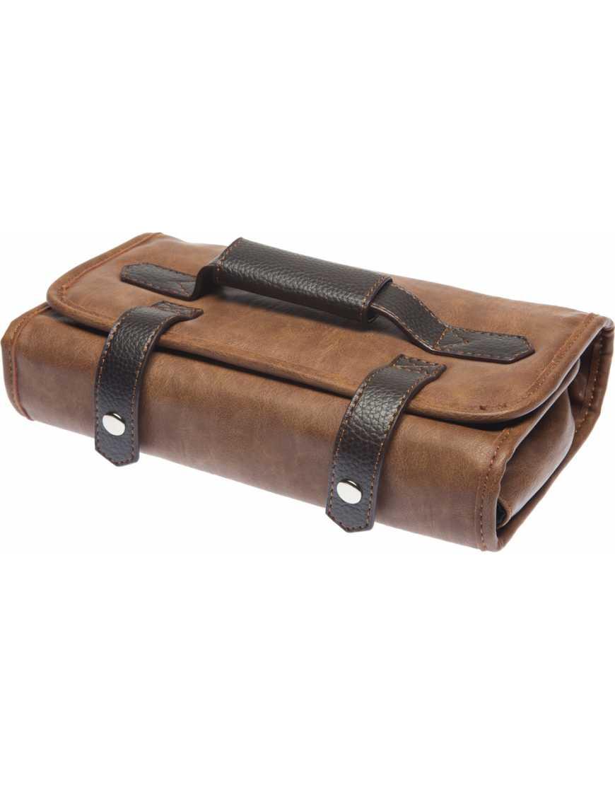 Чехол DEWAL д/парикмахерских инструментов, GS-1710 коричневый 25*13*8 см