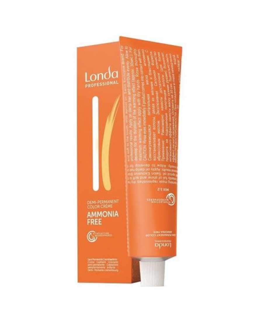 Крем-краска Londa Color интенсивное тонирование для волос, светлый шатен интенсивно-фиолетовый 5/66